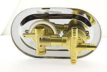 Смеситель для душевой кабины (С-3\6 ) на три положения под штуцер, в стойку душевой кабины, фото 3