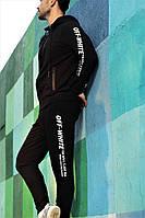 Мужской спортивный костюм (черный)