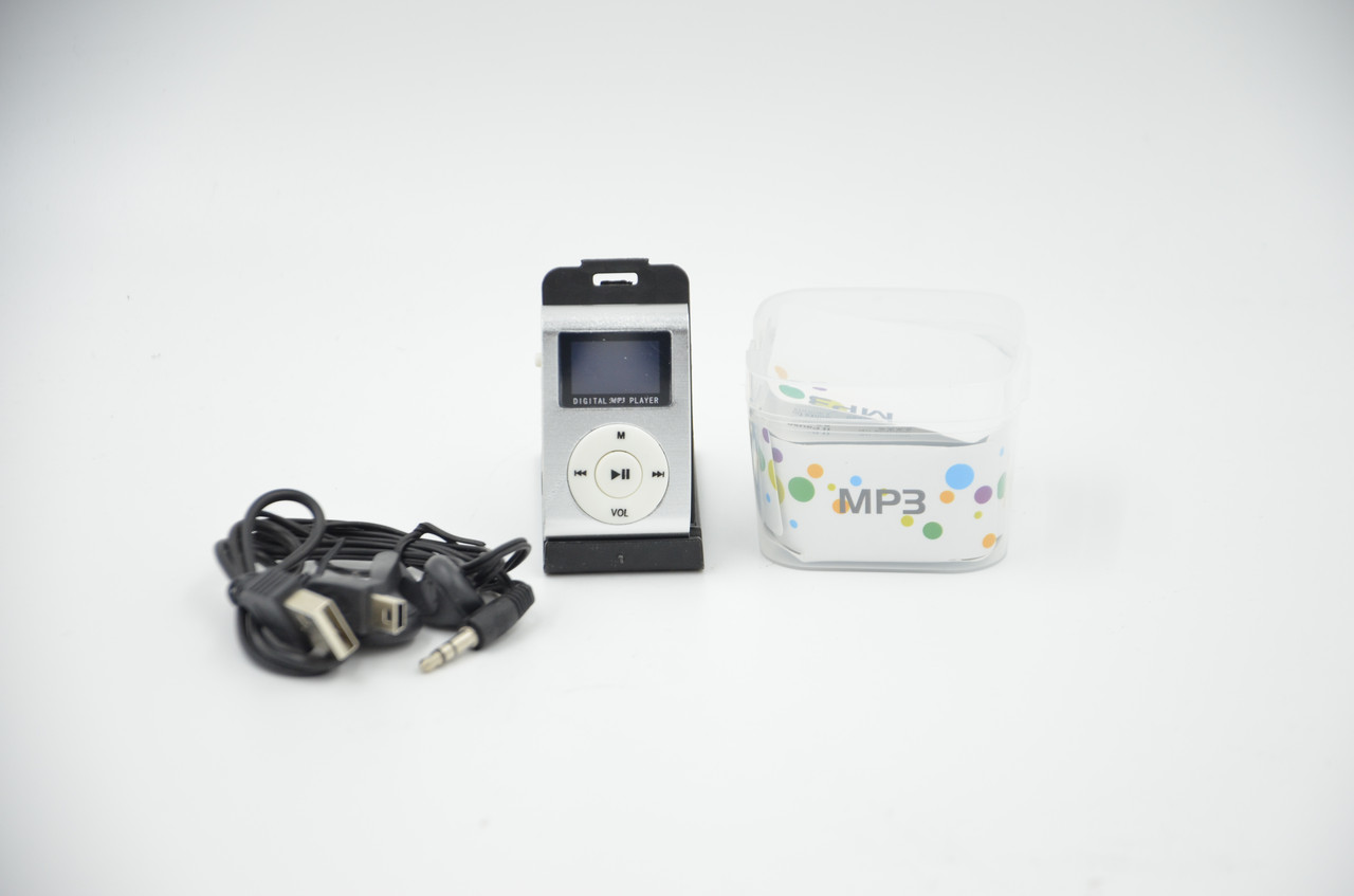 Портативный проигрыватель MP3 плеер Metall с экраном стальной