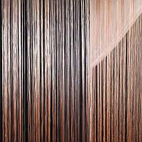 Штора ниткова 300 х 290 см персикова світла (вага 0,865 кг) (48902.001)