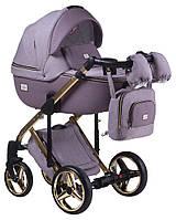 Детская универсальная коляска 2 в 1 Adamex Luciano Polar Gold Y811, фото 1