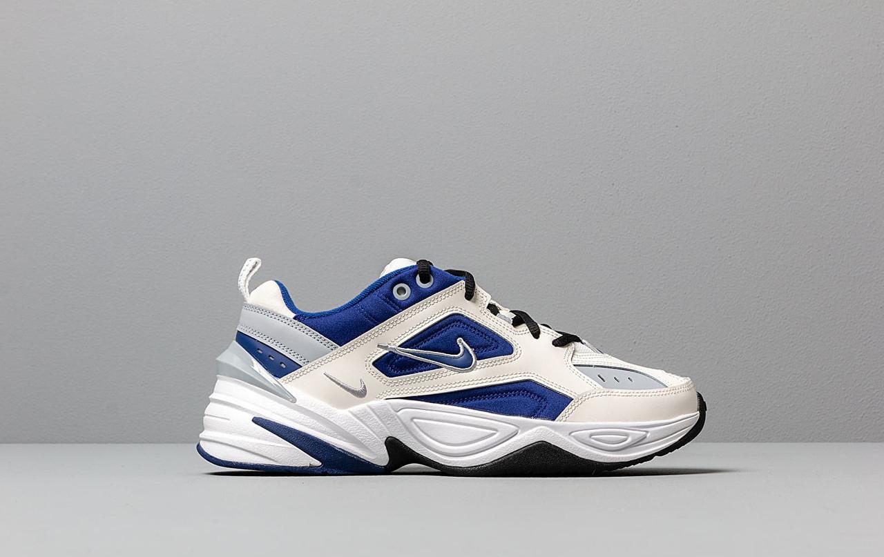 """Кроссовки Nike M2K Tekno """"Белые\Синие"""""""
