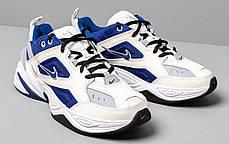 """Кроссовки Nike M2K Tekno """"Белые\Синие"""", фото 3"""