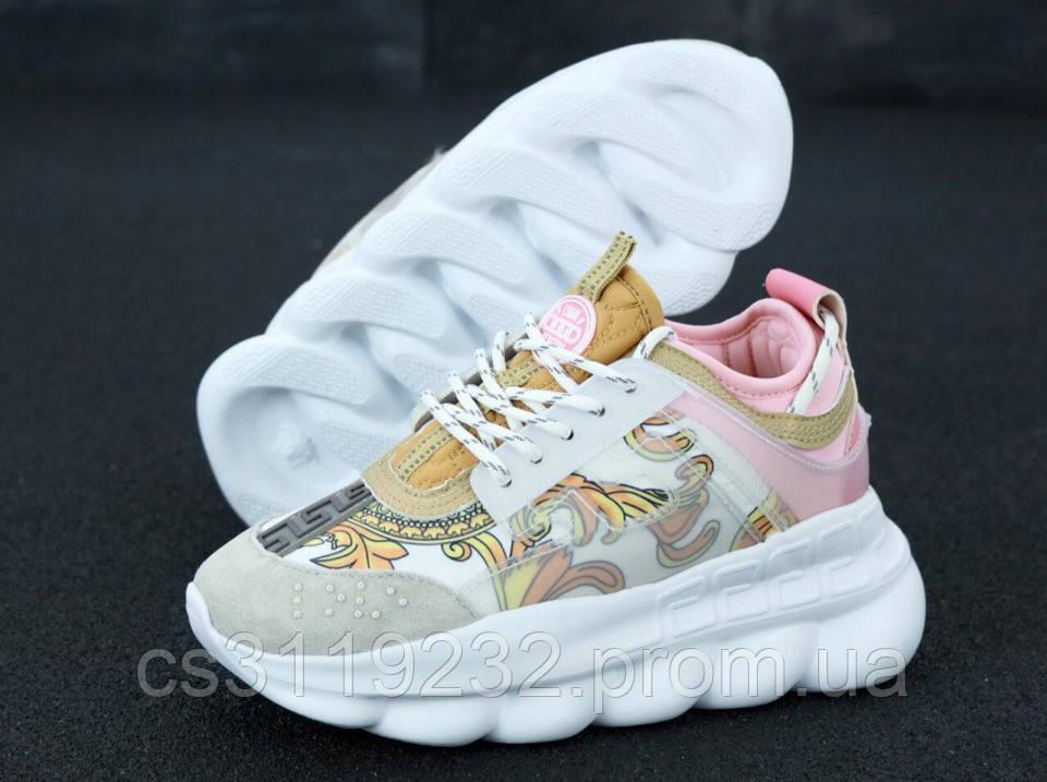 Женские кроссовки Versace Chain Reaction (многоцветные)