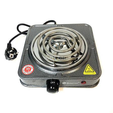Электроплита Domotec MS-5801 электрическая плита настольная, фото 2