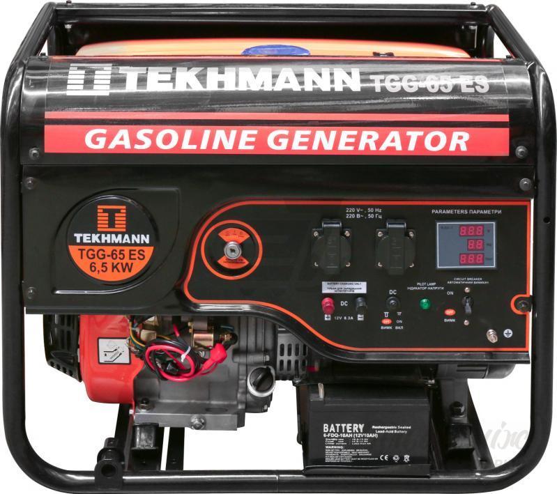 Электрогенератор Бензиновый Tekhmann TGG-65 ES