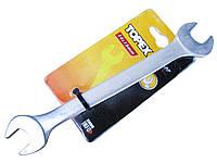 Ключ рожковый ХВ, 14x15мм (TOPEX FRA) 35D609
