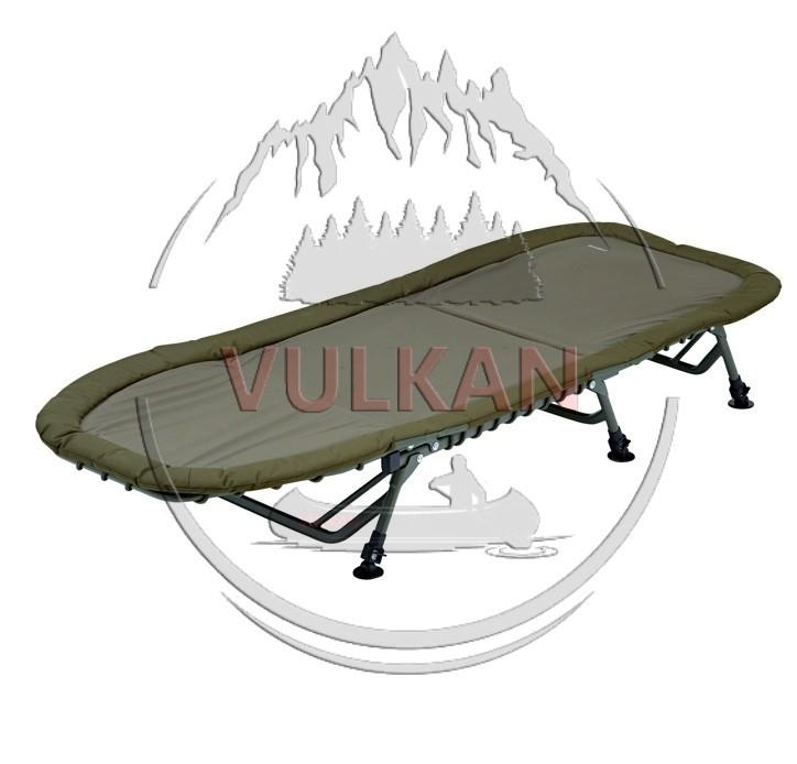 Карповая раскладушка Trakker (Треккер) RLX Flat-6 Superlight Bed