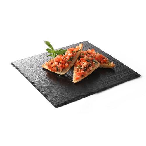 Блюдо сланцевое - квадратное 200x200x(H)5 мм, 2 шт 424643 Hendi (Нидерланды)