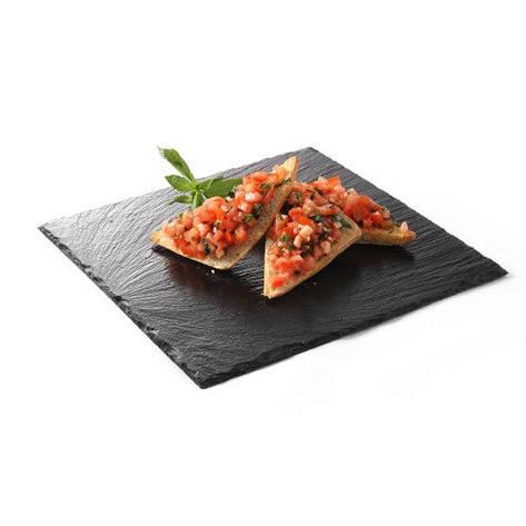 Блюдо сланцевое - квадратное 200x200x(H)5 мм, 2 шт 424643 Hendi (Нидерланды), фото 2