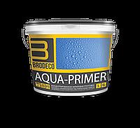 """Концентрированная акриловая грунтовка глубокого проникновения Brodeco """"Aqua-primer"""" 5 л."""