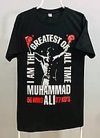 Футболка черная Muhammad ALLI