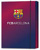 Папка для тетрадей kite bc14-210k на резинке картонная В5 barcelona