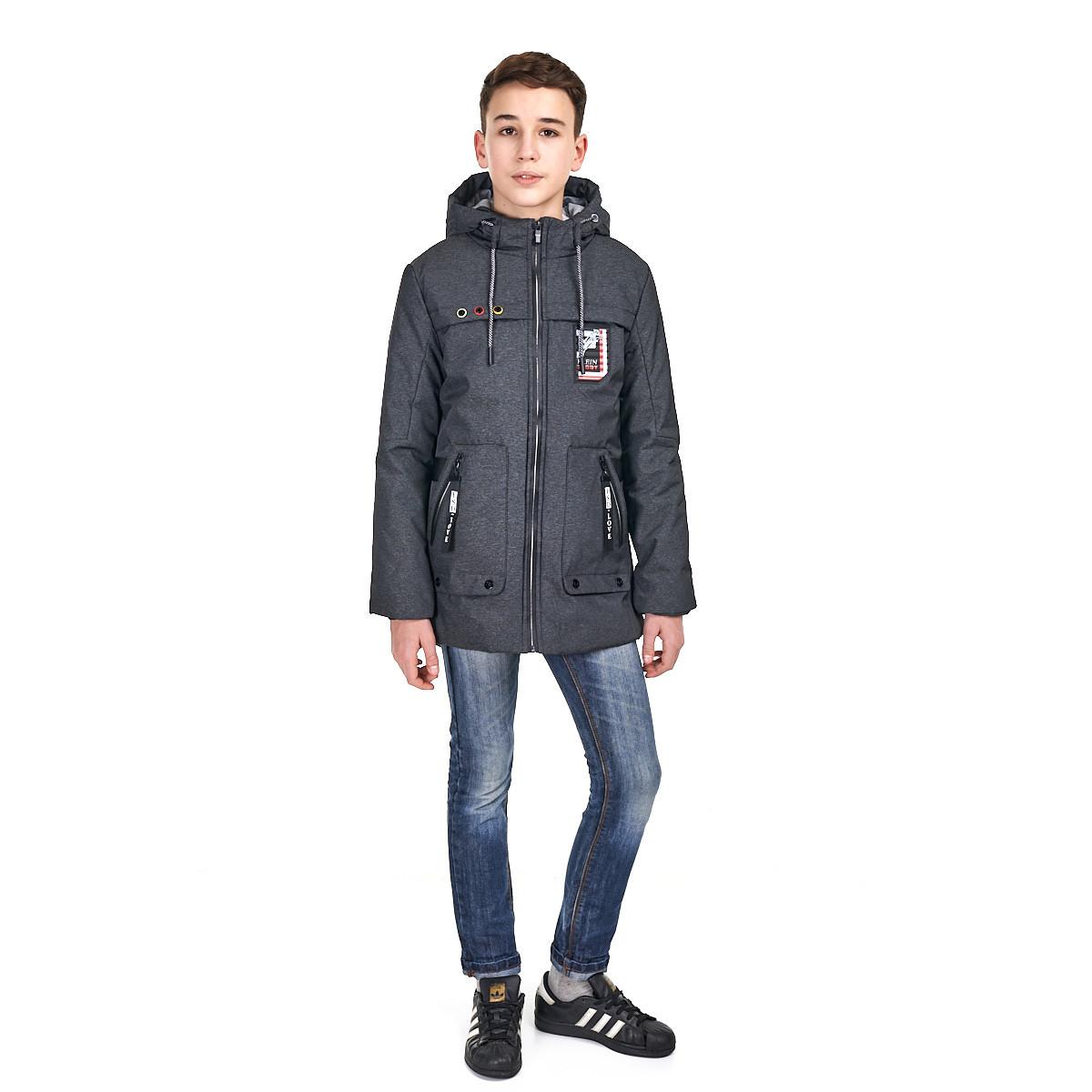 Осеняя куртка на мальчика, размеры 146-170 есть наушники