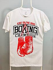 Футболка белая Boxing