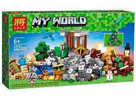 "Конструктор Lele 33231 ""Верстак 2.0"" (аналог Lego Майнкрафт, Minecraft 21135), 800 дет, фото 1"