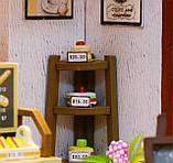 """3D Румбокс Кафе """"Coffee Time"""" - Ляльковий Дім Конструктор / DIY Doll House від CuteBee, фото 6"""