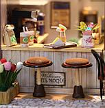 """3D Румбокс Кафе """"Coffee Time"""" - Ляльковий Дім Конструктор / DIY Doll House від CuteBee, фото 7"""
