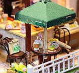 """3D Румбокс Кафе """"Coffee Time"""" - Ляльковий Дім Конструктор / DIY Doll House від CuteBee, фото 9"""