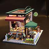 """3D Румбокс Кафе """"Coffee Time"""" - Ляльковий Дім Конструктор / DIY Doll House від CuteBee, фото 3"""