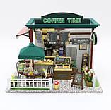 """3D Румбокс Кафе """"Coffee Time"""" - Ляльковий Дім Конструктор / DIY Doll House від CuteBee, фото 4"""