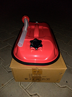 Канистра металлическая горизонтальная ProSwisscar MJ-01 5л 0,8 мм с воронкой