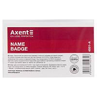 Бейдж Axent 4501-A на заколке, 90х57 мм