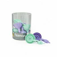 Набор воронок  9 см, 7 см, 5 см (пластик) 10 шт в промо-коробке PR-7275.FN