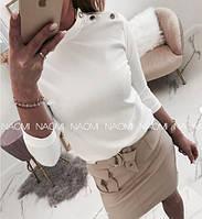 Блуза женская белая 42-44, 46-48 р.