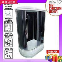 Гидромассажный бокс 120x80x215 см без электроники Atlantis AKL 120P (GR) ECO правый