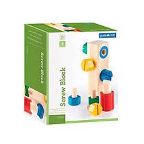 Игровой набор Guidecraft Manipulatives Блок с винтами (G2003)