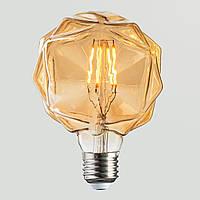 LED Лампа G95 Rustic Crystal 4W