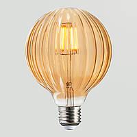 LED Лампа G125 Rustic Meridian 6W, фото 1