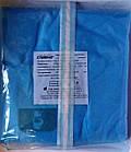 Халат хирургический одноразовый стерильный 134 см на завязках (рукав на резинке) р. XXL / СЛАВНА, фото 2