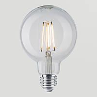 LED Лампа Эдисона G95 6w