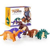 Игровой набор Guidecraft Block Mates Динозавры (без блоков) (G7602), фото 1