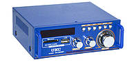 Усилитель Звука UKC SN-3636BT FM USBBluetooth + Караоке