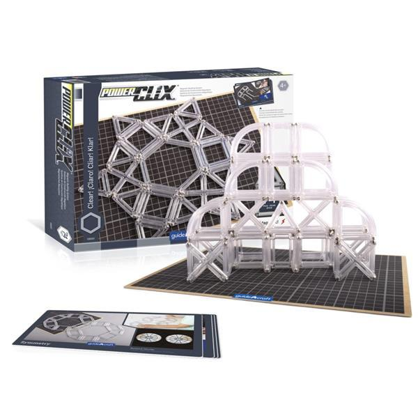 Конструктор Guidecraft PowerClix Frames Clear, 74 детали (G9203)