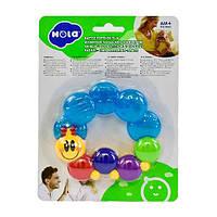Прорезыватель для зубов Hola Toys Веселая гусеничка (306D), фото 1