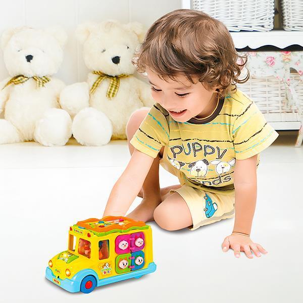 Іграшка Hola Toys Шкільний автобус (796)