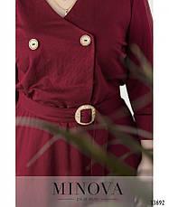 Платье женское деловое,большие размеры, фото 3