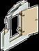 Люк ревизионный SecretDoors распашной скрытого монтажа под отделку 300х300 мм, фото 3