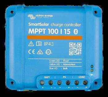 Солнечный контроллер заряда SmartSolar MPPT 100/15 Bluetooth