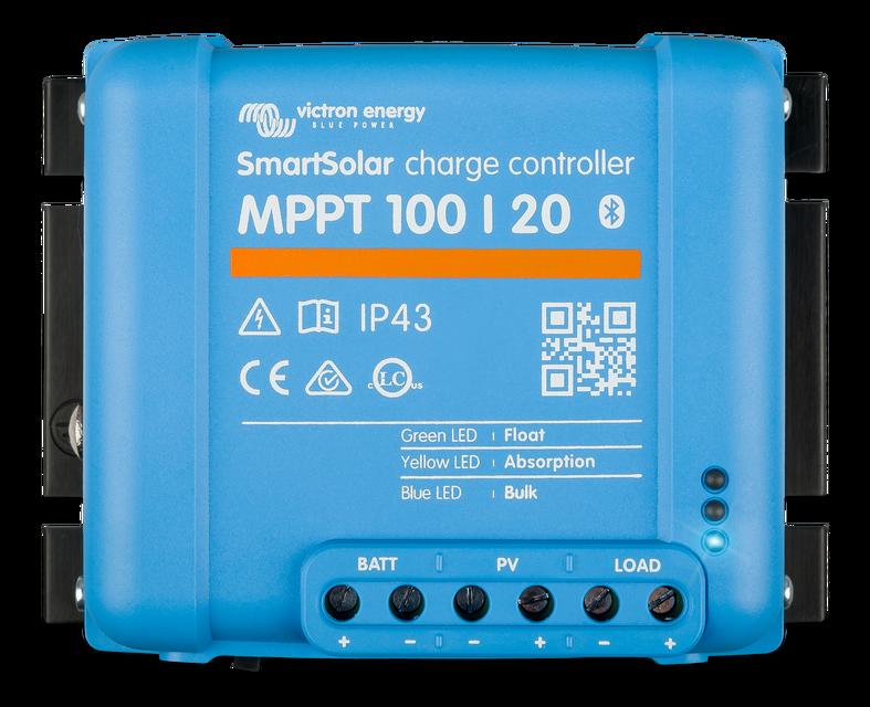 Солнечный контроллер заряда SmartSolar MPPT 100/20 Bluetooth