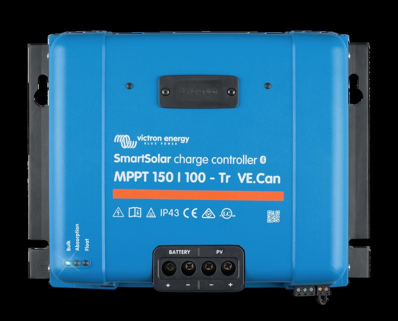 Солнечный контроллер заряда SmartSolar MPPT 150/100-Tr VE.Can Bluetooth