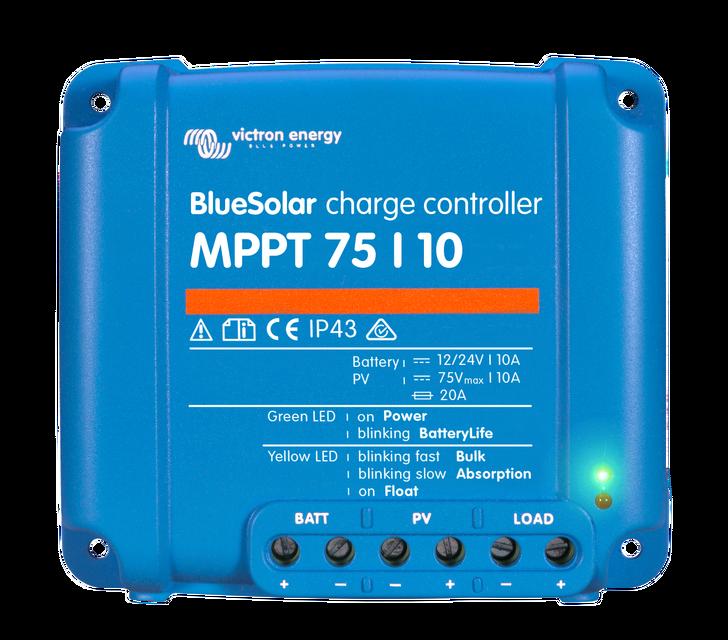Солнечный контроллер заряда BlueSolar MPPT 75/10