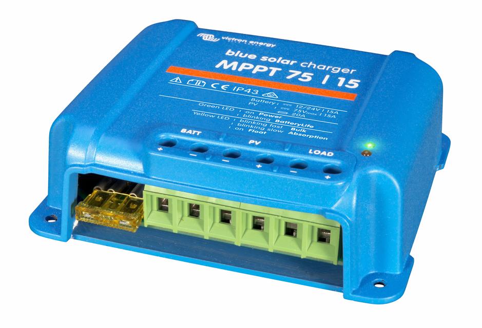 Солнечный контроллер заряда BlueSolar MPPT 75/15