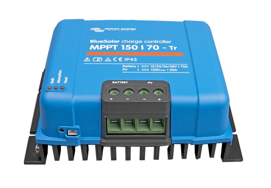 Солнечный контроллер заряда BlueSolar MPPT 150/70