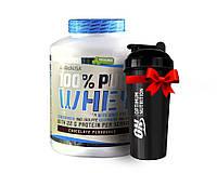 Протеин BioTech USA,100% Pure Whey 2,27 кг клубничный
