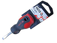 Отвертка шлицевая 5х38мм (BRADAS) YT-2679